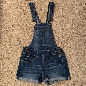 Girls justice overalls